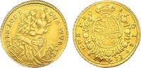 1/4 Karolin 1733 Deutschland - Württemberg...