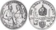 Ag-Medaille 1996 Österreich Kaiser Franz J...