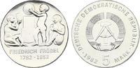 5 DM 1982 DDR Friedrich Fröbel (1782 - 185...