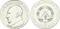 5 DM 1989 DDR Carl von Ossietzky (1889 - 1...