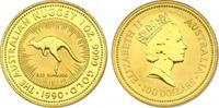 100 Dollar 1990 Australien  Red Kangaroo  ...