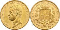 100 Lire 1834 P (Adl Italien - Sardinien K...