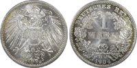 1 RM 1904-D Deutsches Reich German Empire ...