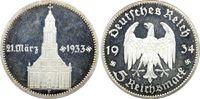 5 RM 1934-F Drittes Reich Garnisonskirche ...