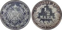 ½ RM 1915-J Deutsches Reich German Empire ...