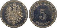 5 Pfg 1874-A Deutsches Reich German Empire...
