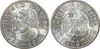 Drittes Reich 5 RM 450. Geburtstag Martin Luther