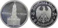 2 RM 1934-A Drittes Reich Garnisonskirche ...