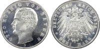 3 RM 1911-D Kaiserreich Bayern König Otto ...