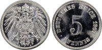5 Pfg 1907-A Deutsches Reich German Empire...
