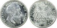 2 RM 1902-G Kaiserreich Baden Friedrich I ...