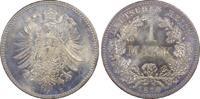 1 RM 1876-C Deutsches Reich German Empire ...