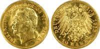 10 RM 1912-G Kaiserreich Baden Friedrich I...