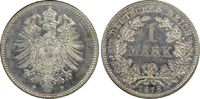 1 RM 1878-F Deutsches Reich German Empire ...