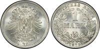 1 RM 1875-D Deutsches Reich German Empire ...