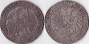 Taler,feine Patina,Kuttenberg, 1605, Römisch Deutsches Reich, Haus Habsburg,Rudolf II.,1576-1612, sehr schön,