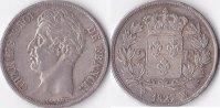 2 Francs, 1827 W., Frankreich, Karl X., vz.,  295,00 EUR  Excl. 5,00 EUR Verzending