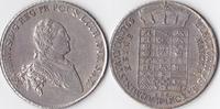 Konv.-Taler,feiner Prägeglanz, 1766, Deuts...