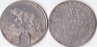 1/2 Konventionstaler, 1799, Deutschland, anhalt-Bernburg,Alexius Friedr... 220,00 EUR  Excl. 5,00 EUR Verzending