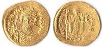 Solidus, o.J., Byzanz, Phocas,602-610, prägefrisch,  680,00 EUR  Excl. 10,00 EUR Verzending