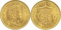 10 Gulden Gold 1911 Niederlande-Königreich...