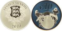 10 Euro 2011 Estland Republik seit 1991. m...