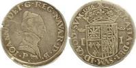 Teston 1564 Spanien-Navarra Jeanne d  Albr...