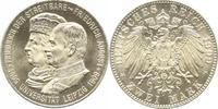 2 Mark 1909  E Sachsen Friedrich August II...