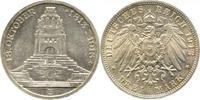 3 Mark 1913  E Sachsen Friedrich August II...
