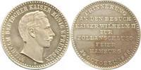 Silbermedaille 1888 Hamburg, Stadt  vorzüg...