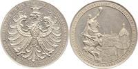 Aluminiummedaille 1891 Frankfurt, Stadt  v...