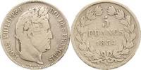 5 Francs 1834  MA Frankreich Louis Philipp...