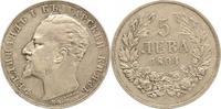 5 Leva 1894 Bulgarien Ferdinand I. 1887-19...