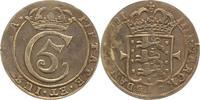 Krone zu 4 Mark 1681 Dänemark Christian V....