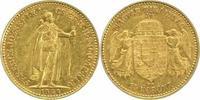10 Korona Gold 1904  KB Ungarn Franz Josef...