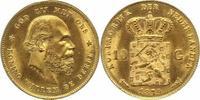 10 Gulden Gold 1879 Niederlande-Königreich...