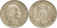 3 Mark 1912  E Sachsen Friedrich August II...