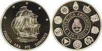 25 Pesos 2002 Argentinien Republik 1816. P...
