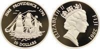 10 Dollars 2001 Fiji-Inseln Republik seit ...