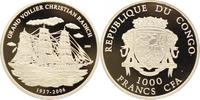 1000 Francs 2006 Kongo (Congo) Republik Re...