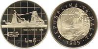 5 Liri 1985 Malta Republik seit 1974. Präg...