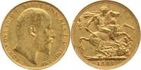 One Pound Gold 1907  P Australien Edward V...