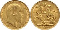 Sovereign Gold 1907 Großbritannien Edward ...