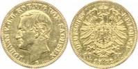 10 Mark Gold 1872  E Sachsen Johann 1854-1...