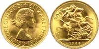 Sovereign Gold 1966 Großbritannien Elisabe...