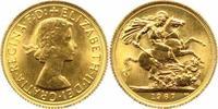 Sovereign Gold 1967 Großbritannien Elisabe...