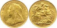Sovereign Gold 1900 Großbritannien Victori...
