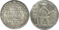 24-Mariengroschen (Feinsilber) 1710 Brauns...