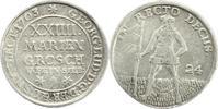 24-Mariengroschen (Feinsilber) 1703 Brauns...