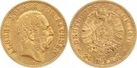 20 Mark Gold 1876  E Sachsen Albert 1873-1...